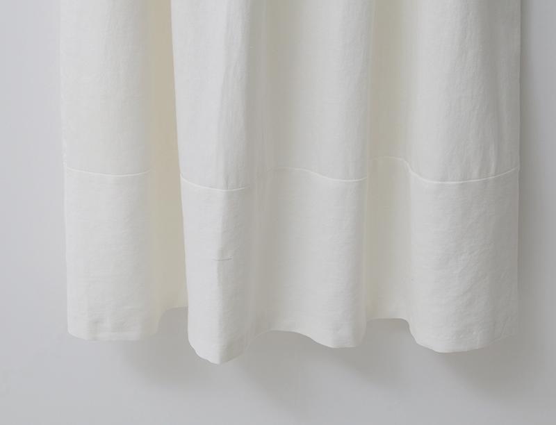 여자 플리츠 펀칭 레이스 리본 민소매 린넨 원피스 - 옷자락, 141,000원, 원피스, 롱/미디원피스